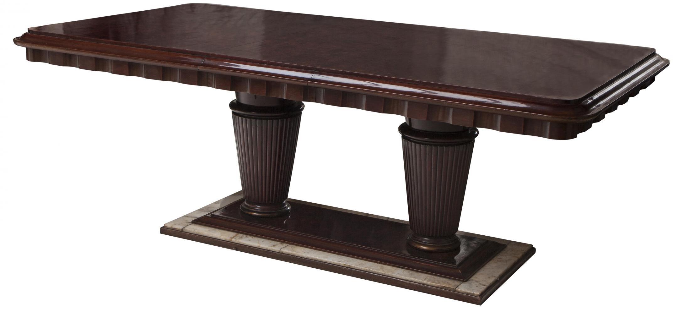 french art deco dining table for ten art deco dining furniture