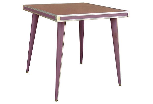 Midcentury S Umberto Mascagni Italian Card Table Set Modernism - Mid century modern card table
