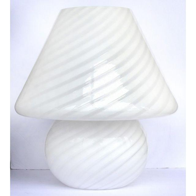 Italian vetri murano mushroom table lamp modernism italian vetri murano mushroom table lamp aloadofball Gallery