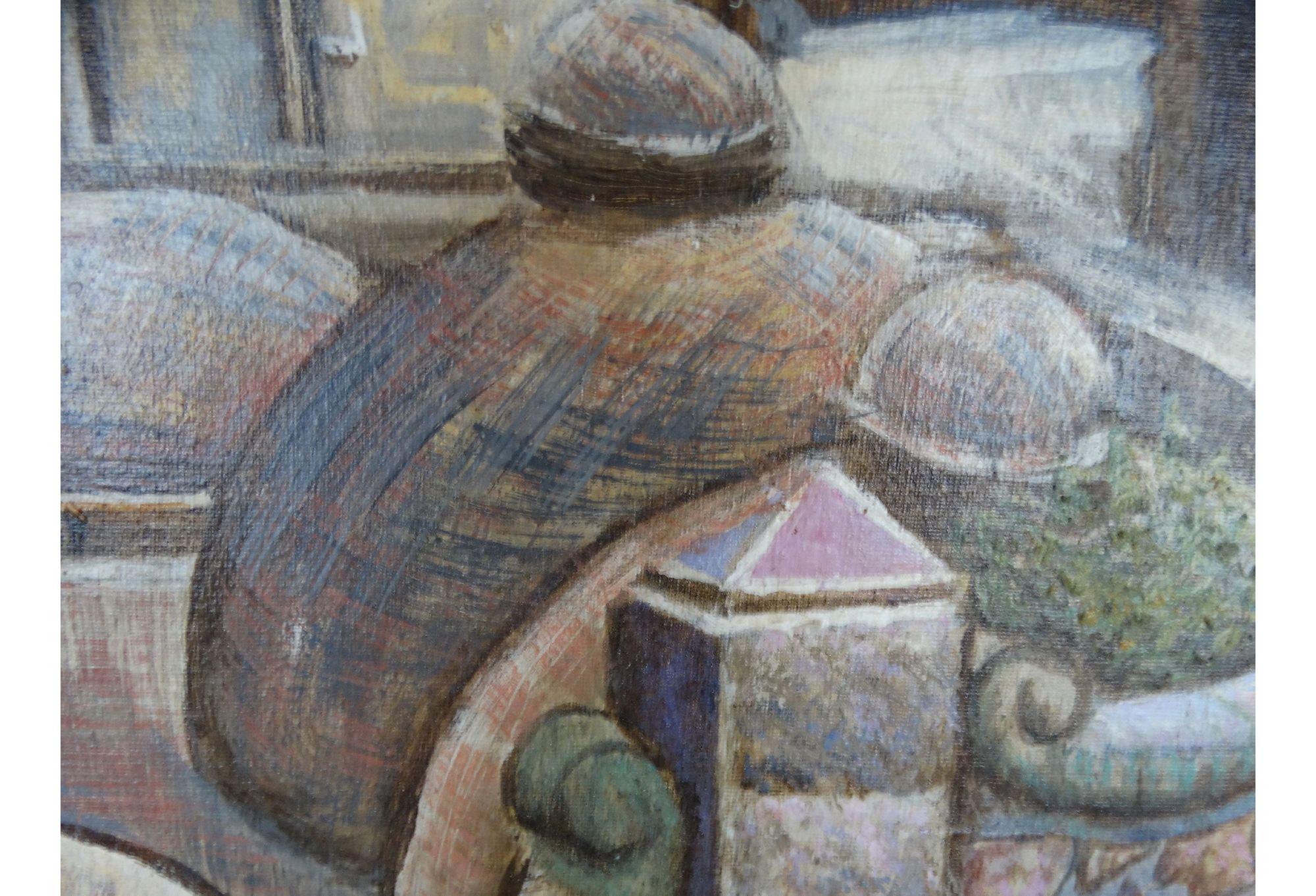Mexico City Oil Painting By Jesus Ortiz Tajonar Modernism