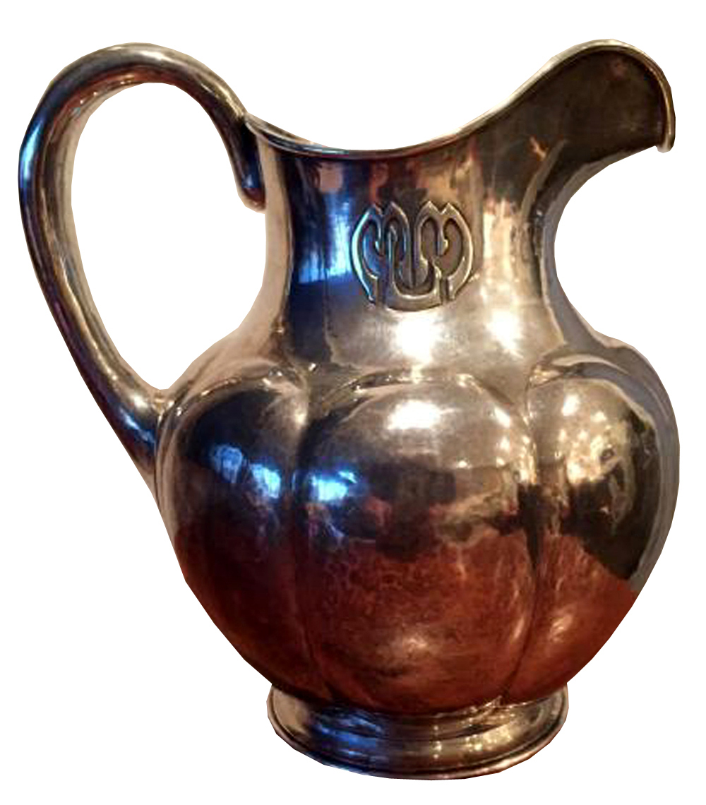 The Kalo Shops Sterling Silver Water Pitcher 1917 Modernism