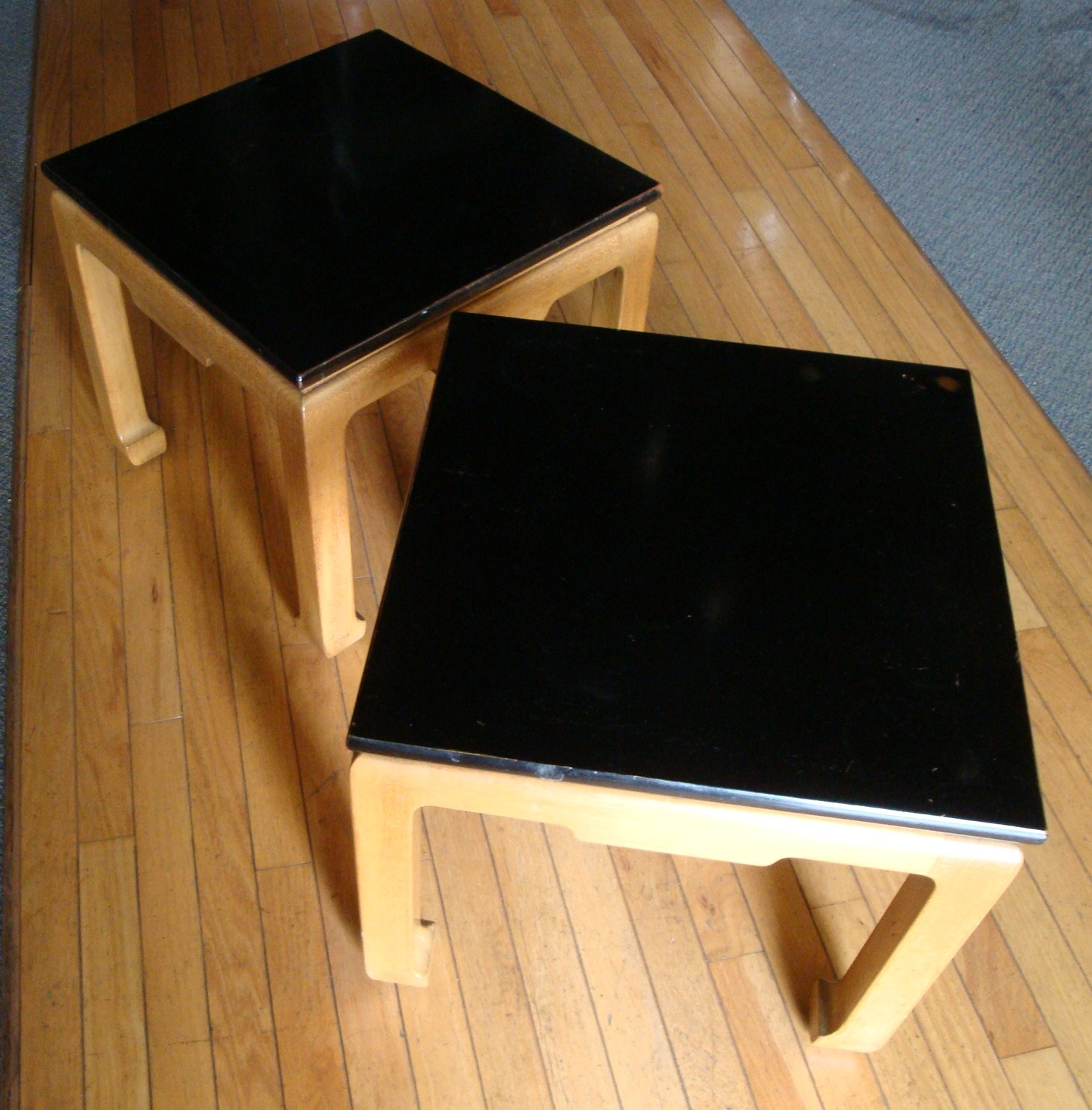 Kittinger Asian Moderne Occasional Tables Pair