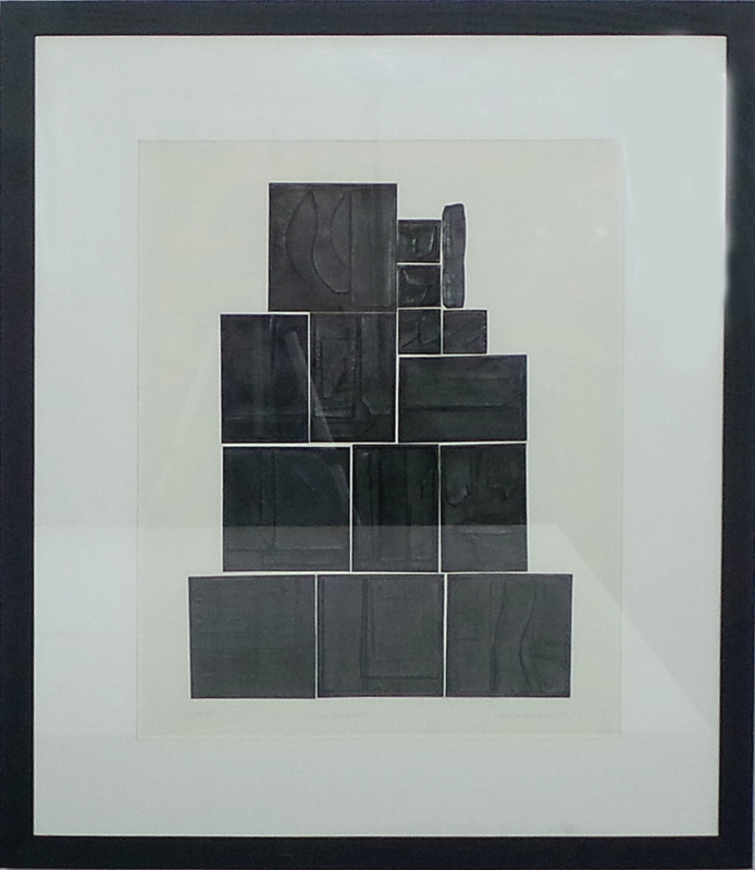 Louise Nevelson The Great Wall Modernism
