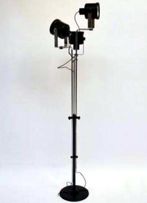 Lumi Floor Lamp Mid Century Modern Italian Design Sixties