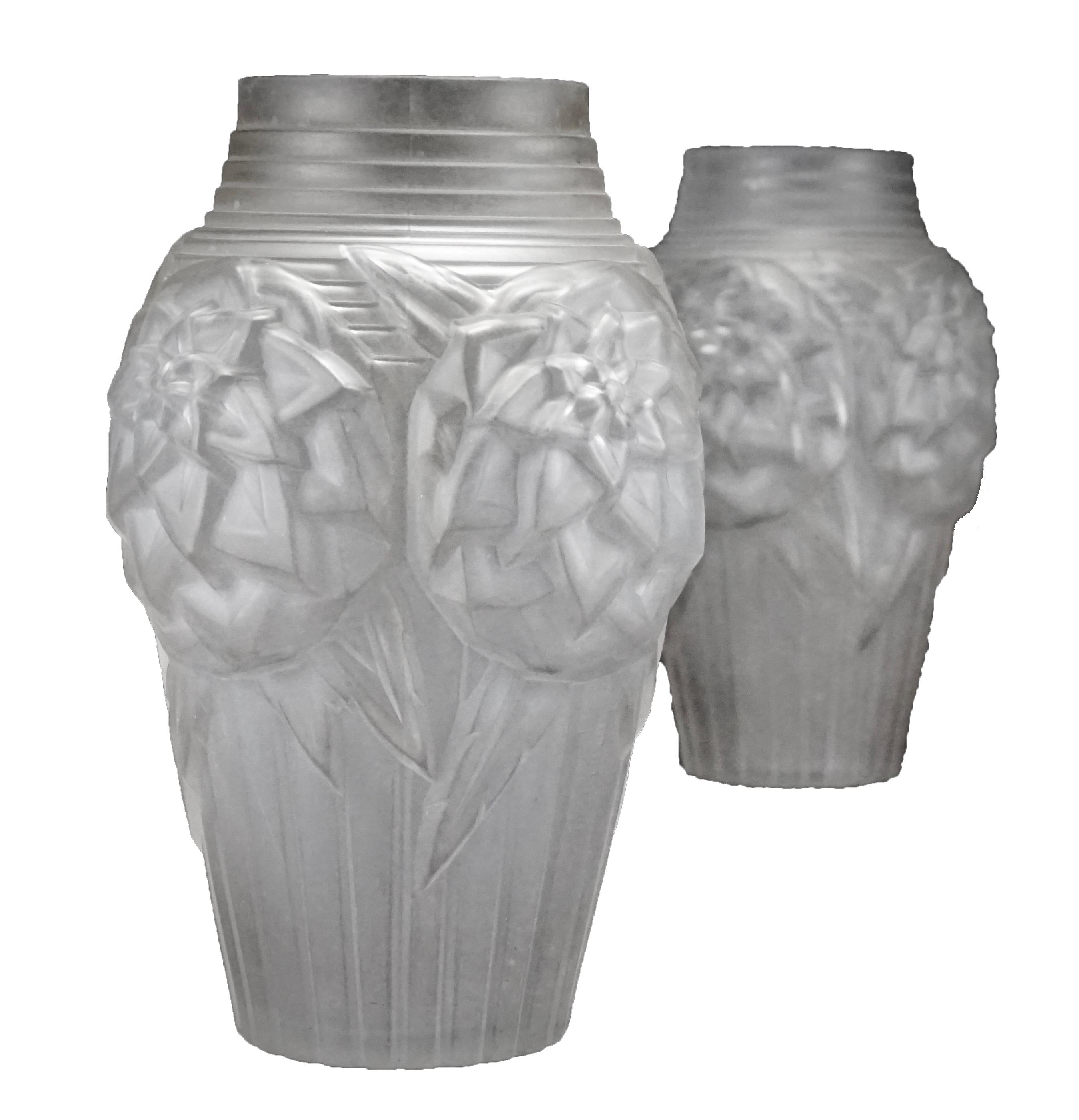 Mller frres glass art deco vases modernism mller frres glass art deco vases floridaeventfo Image collections