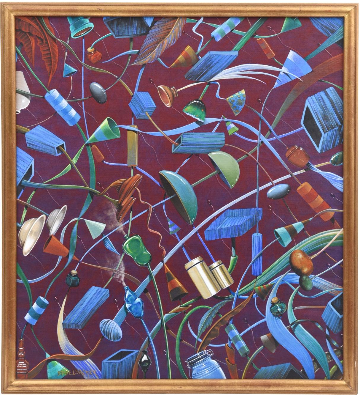 Magic Surrealist Painting By Claudio Dinzelbacher Modernism