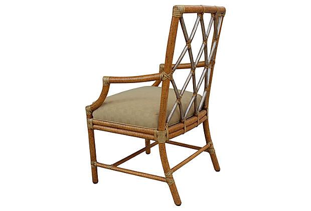 Mcguire Bamboo Armchair Modernism