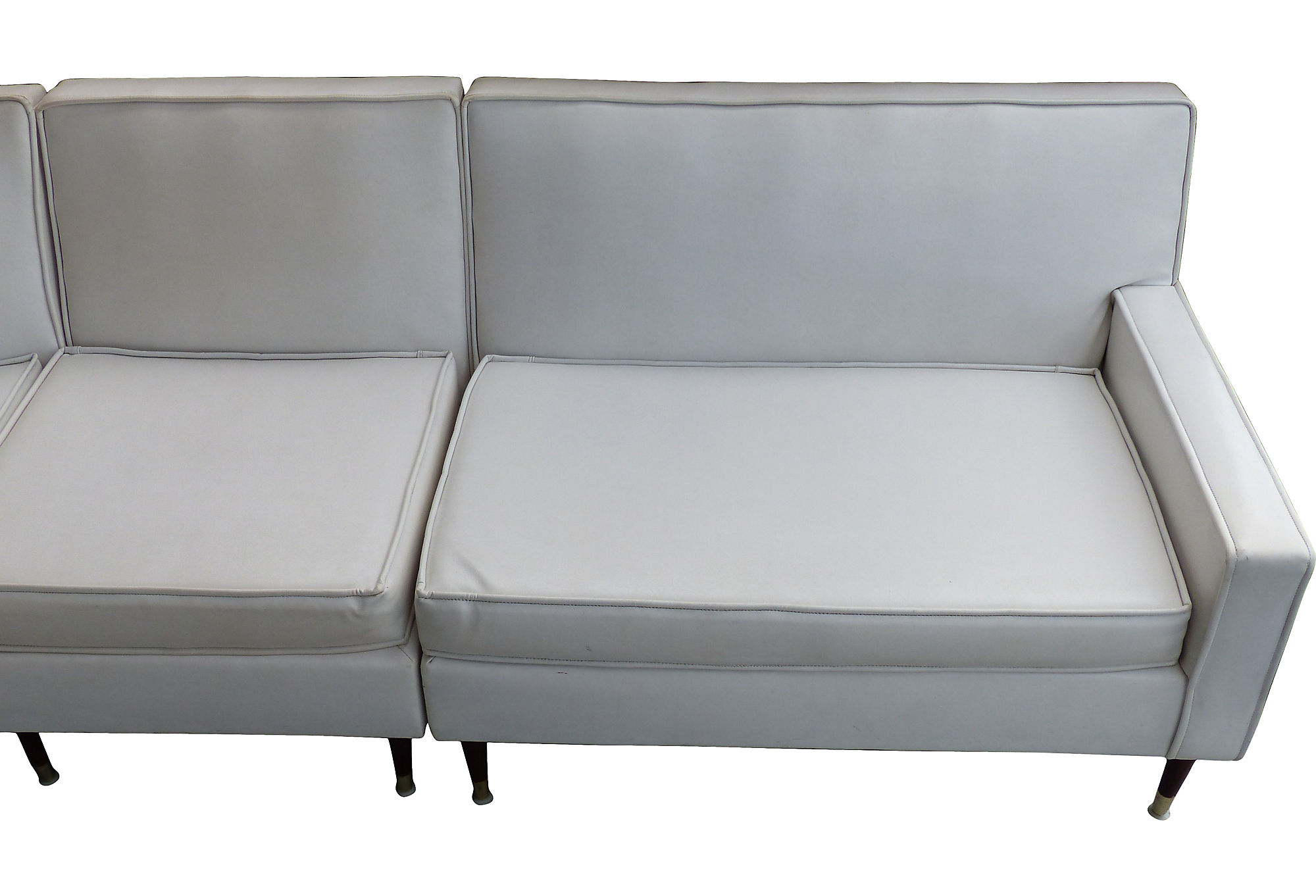 mid century modern sectional sofa modernism