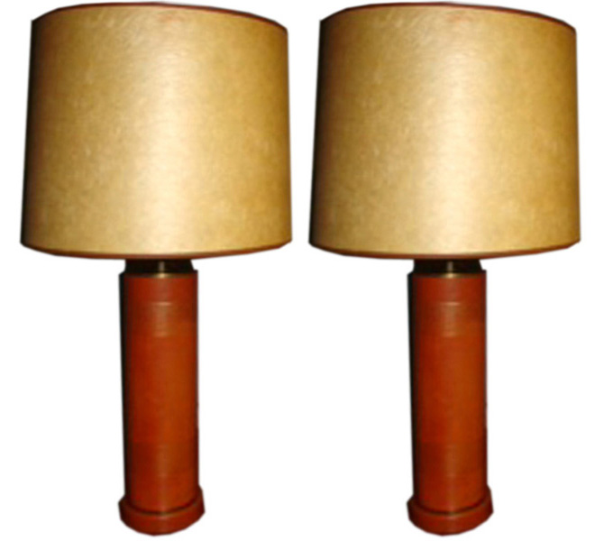 Pair American Mid Century Modern Fifties Table Lamps