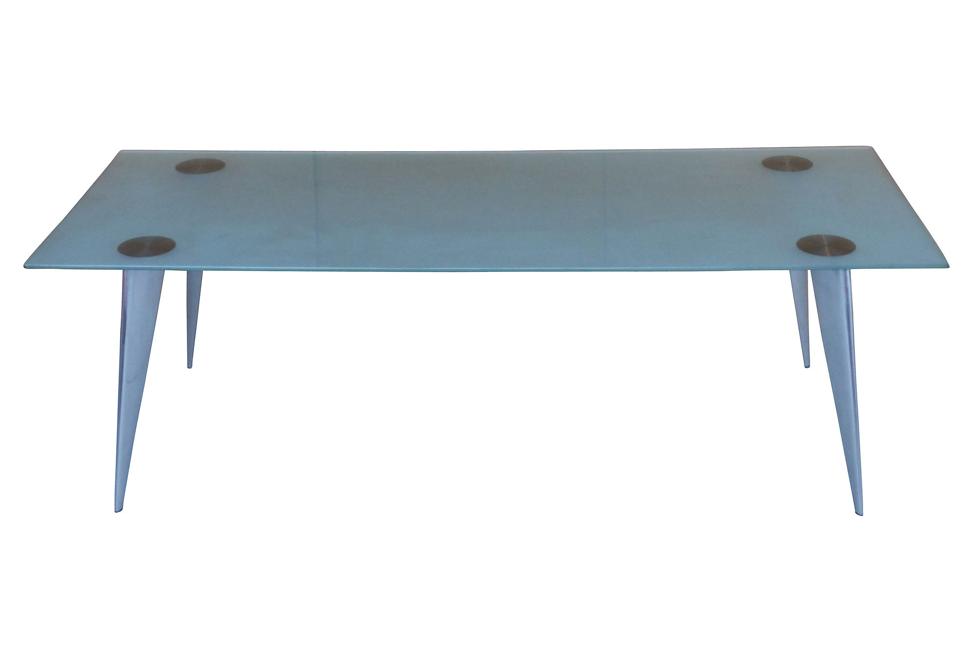 philippe starck s rie lang dining table for driade aleph On philippe starck glass table