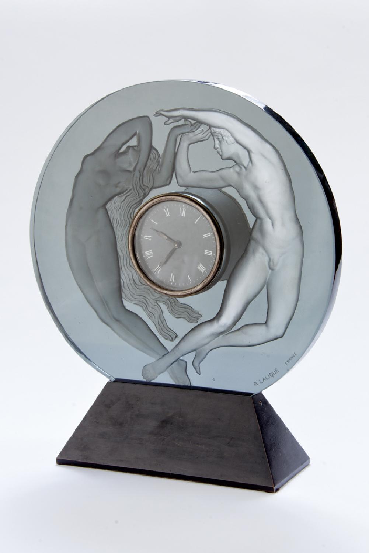 Ren 233 Lalique Clock Le Jour Et La Nuit Art Deco Modernism