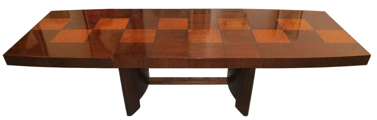 Gilbert rohde art deco dining table for herman miller