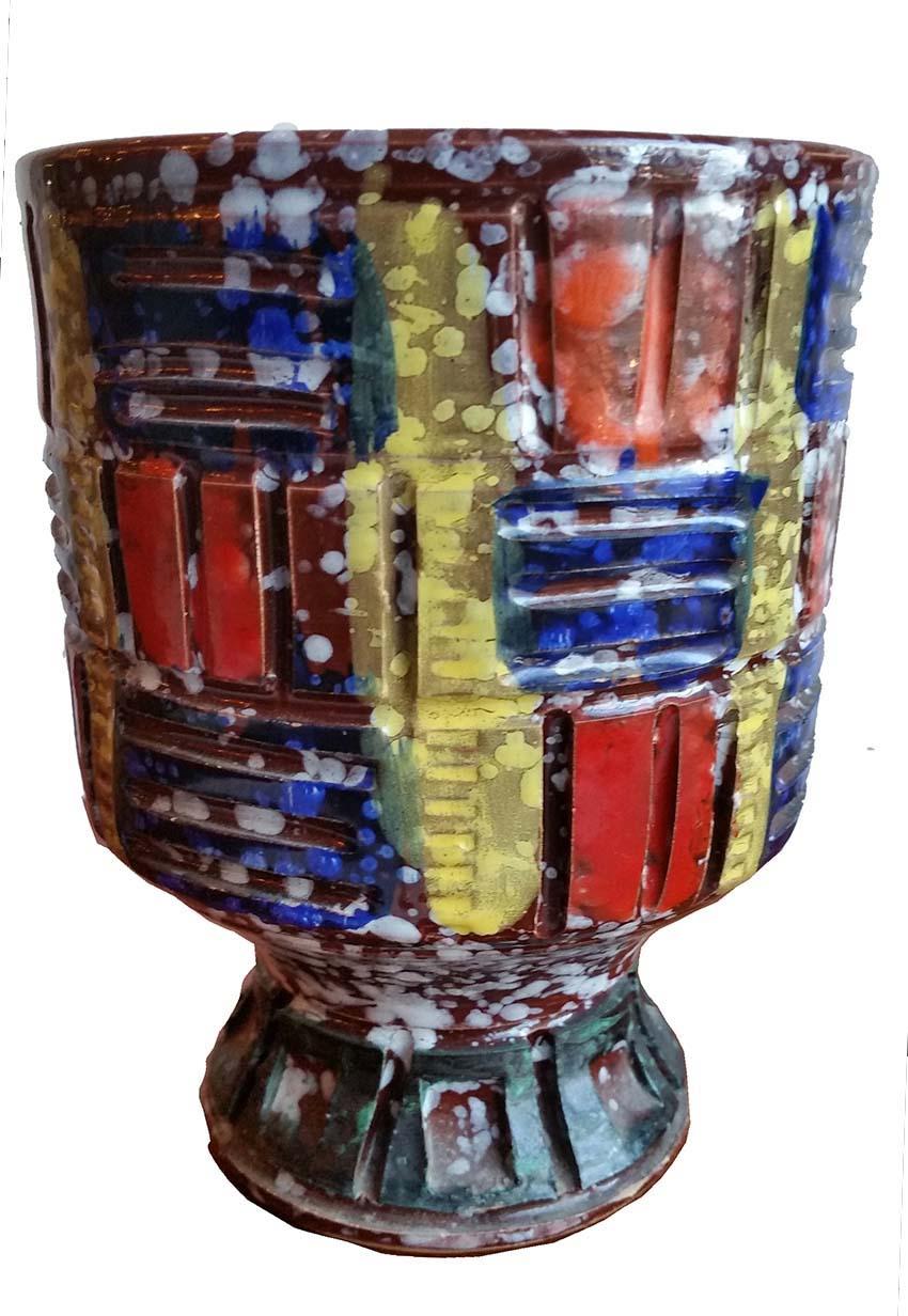 Rossini Mid Century Vase Italian Ceramic Design Modernism