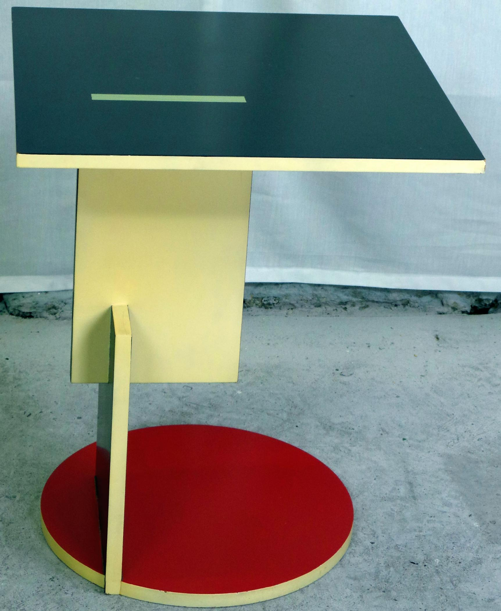 Schroeder Table By Gerrit Rietveld