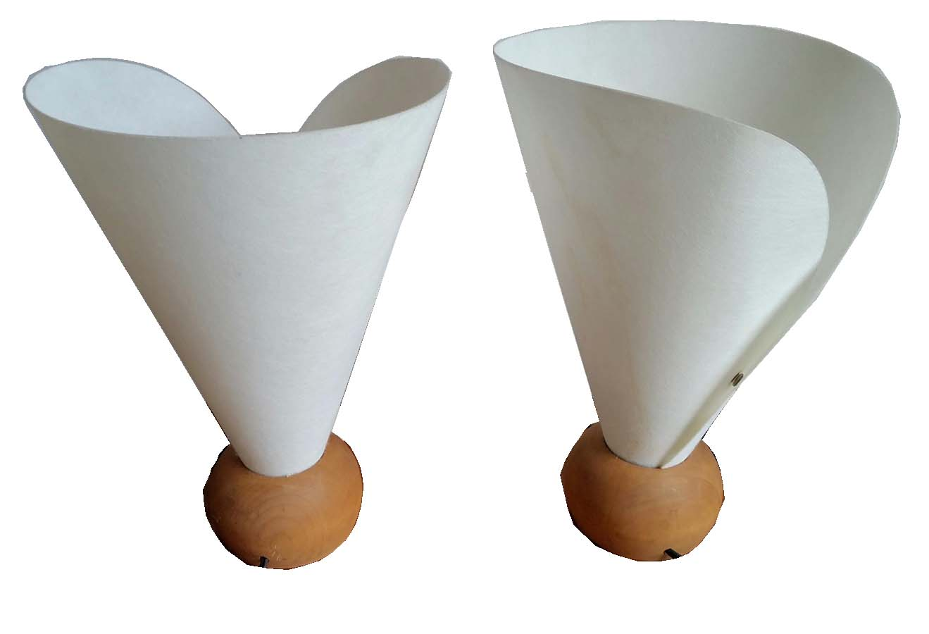 Small table lamps - Pair Of Small Table Lamps Mid Century Style
