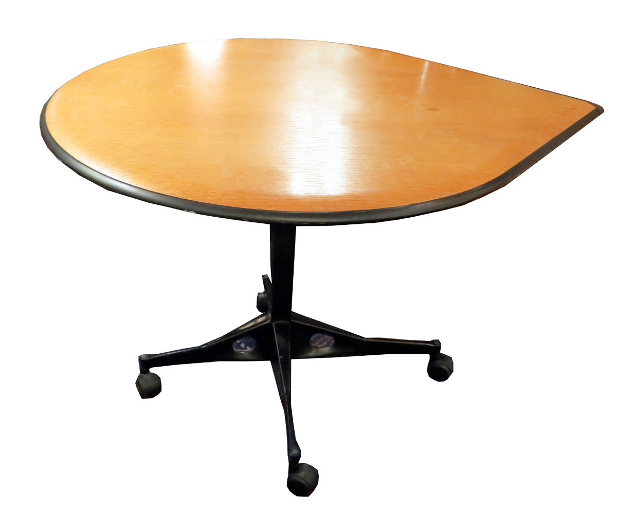 Vintage Herman Miller Teardrop Table Mid Century Modern