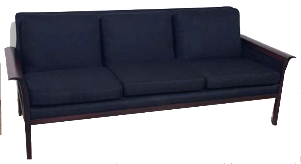 Vatne Mobler Danish Modern Rosewood Couch & Chair Modernism