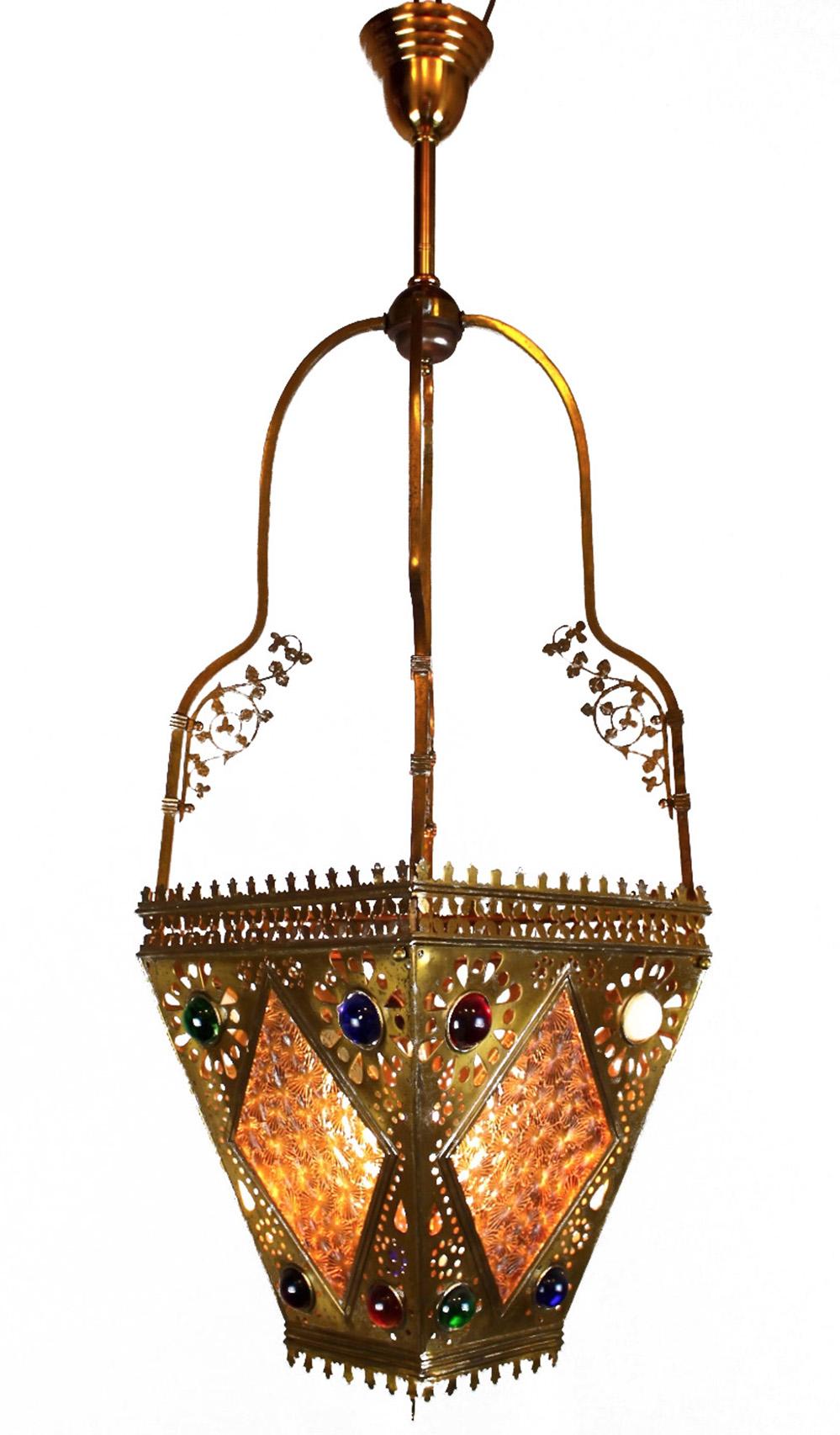 Victorian Aesthetic Movement Hall Lantern Modernism
