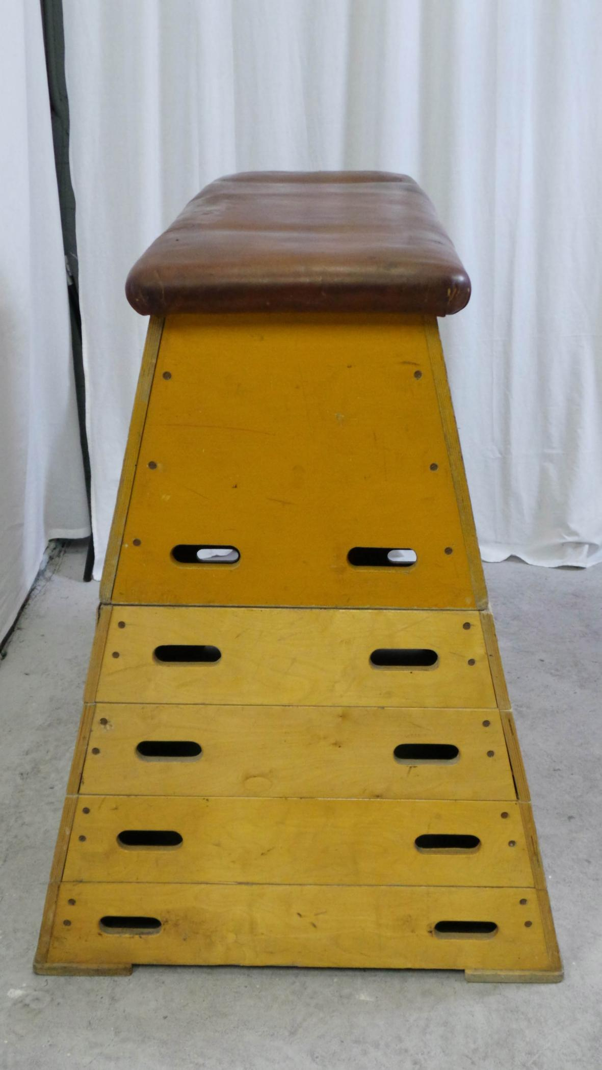 Vintage Gymnastics Equipment Modernism