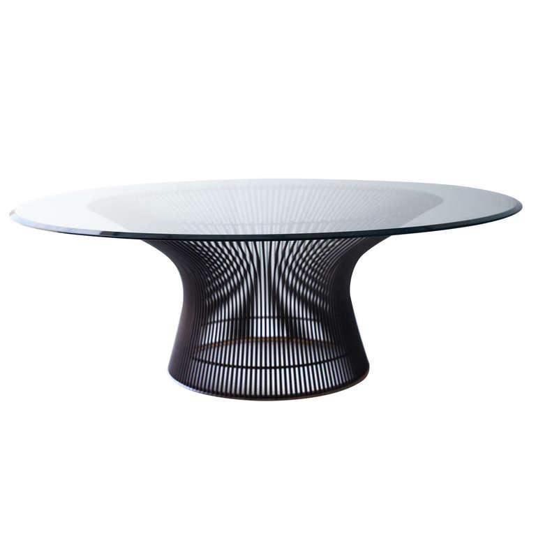 warren platner coffee table for knoll international modernism