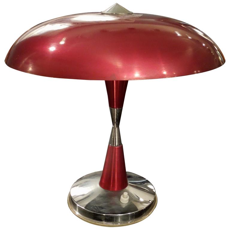 A Great Fifties Italian Design Table Lamp Modernism