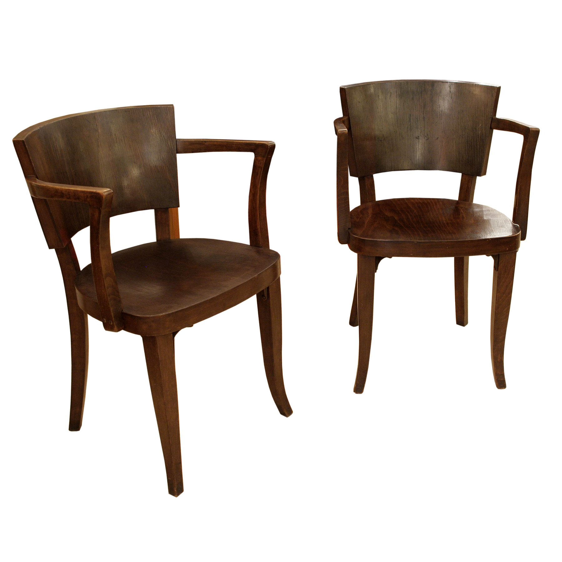 A Rare Pair Of Chairs By Thonet Ca 1930s Modernism