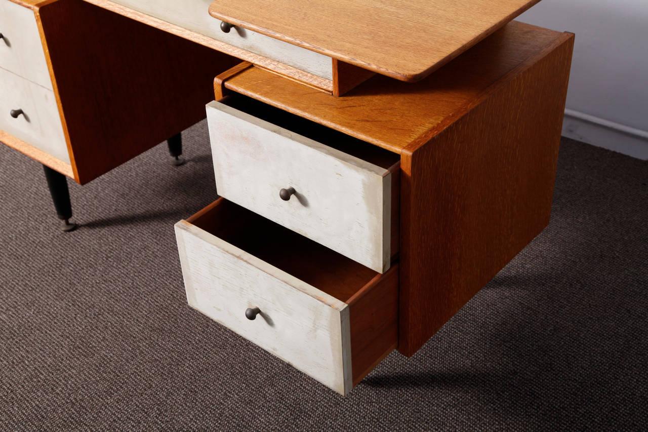 Scandinavian Design Desk By Ib Kofod Larsen