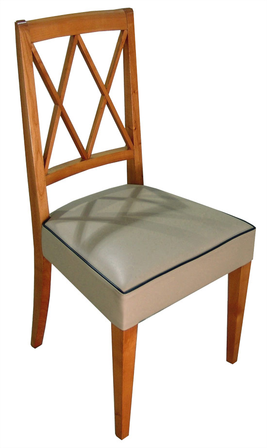 Adnet French Art Deco Card Table & Four Chairs