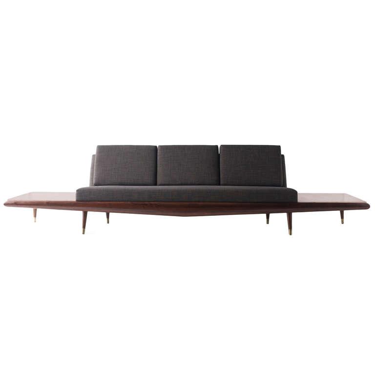 Adrian Pearsall Sofa For Craft Associates Inc Modernism