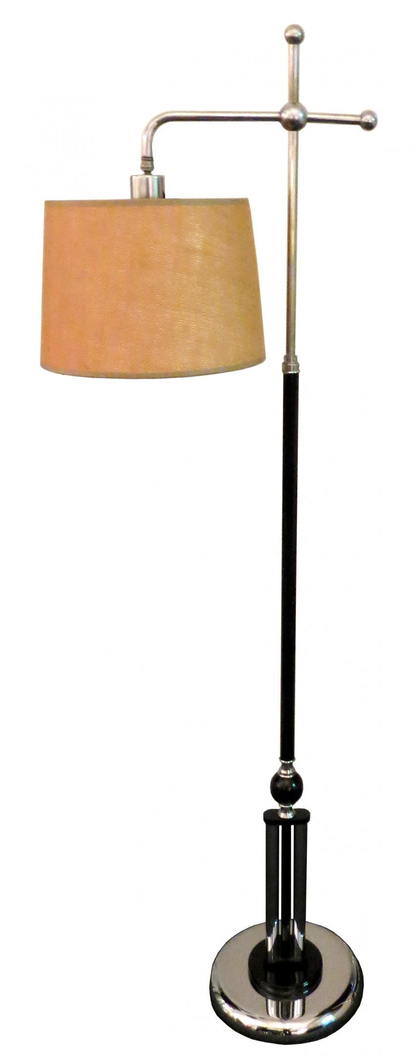 american art deco floor lamp modernism. Black Bedroom Furniture Sets. Home Design Ideas