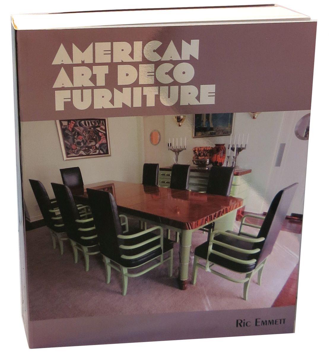 Book Furniture: American Art Deco Furniture By Ric Emmett Ltd Edition Book