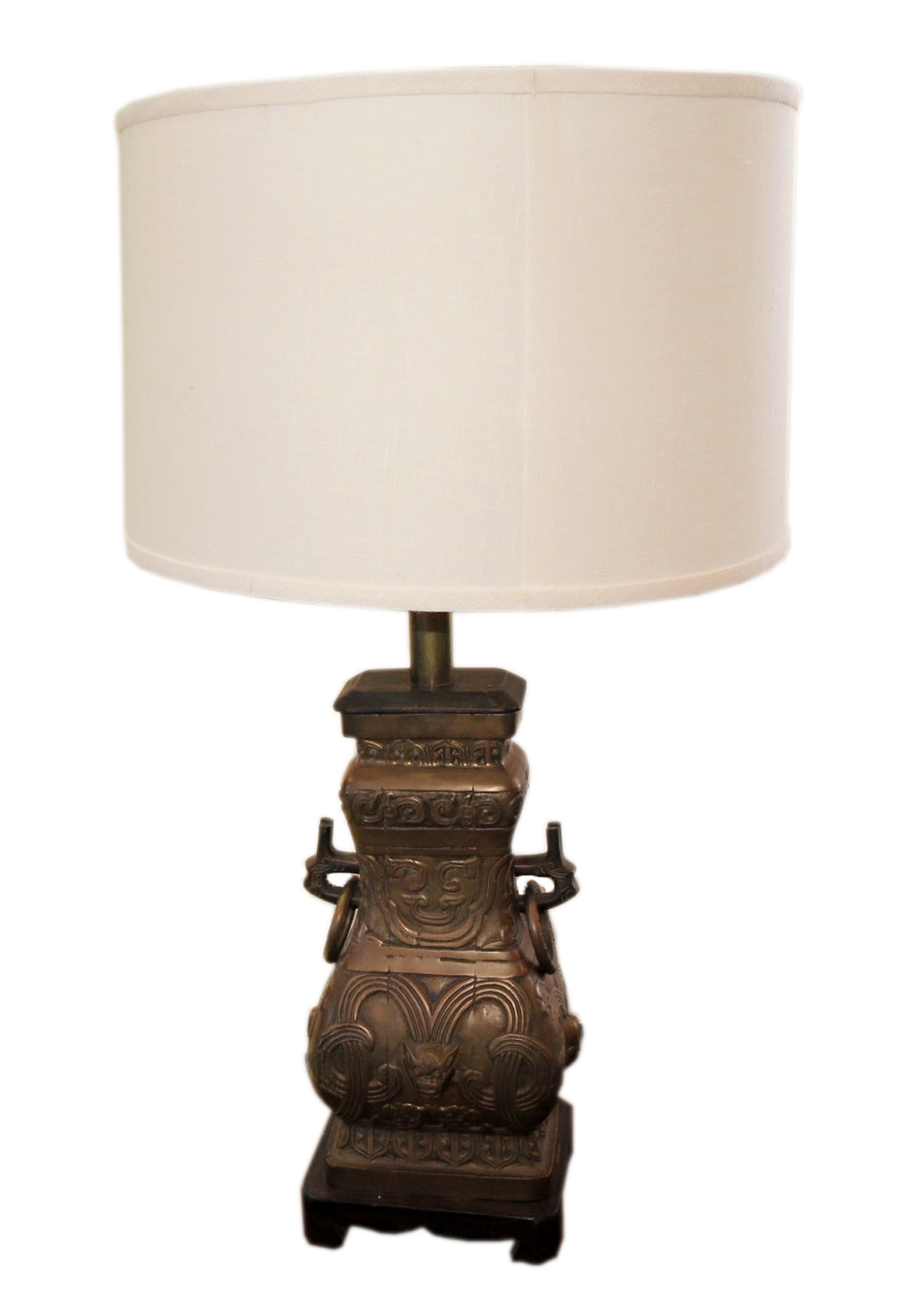 Superbe Chic Antique Bronze Table Lamp Over The Top