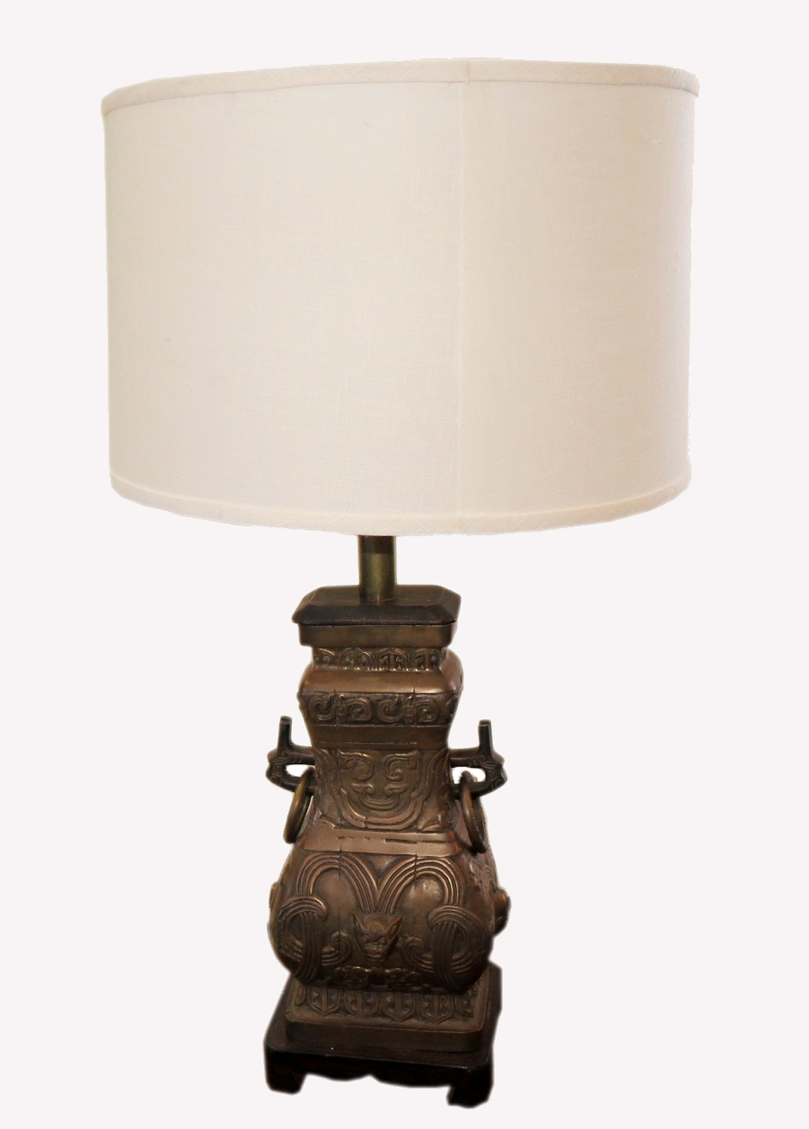 Perfect Chic Antique Bronze Table Lamp Over The Top