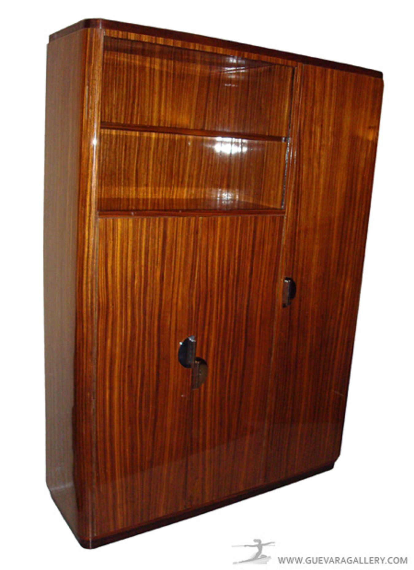 french art deco bibliotheque cabinet modernism. Black Bedroom Furniture Sets. Home Design Ideas