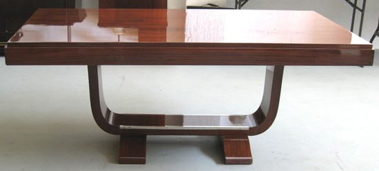 French Art Deco Rosewood Dining Table | Modernism