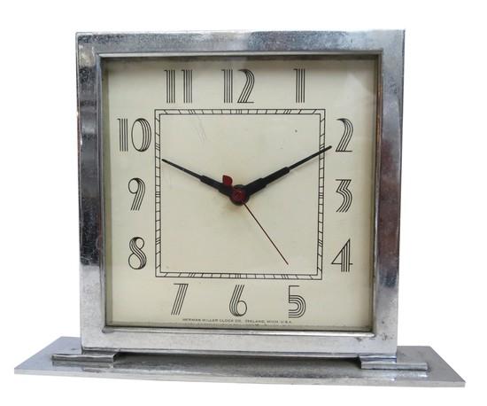 Gilbert Rohde For Herman Miller American Art Deco Clock Modernism