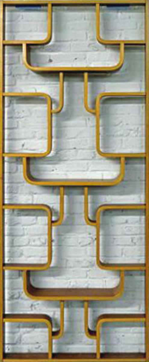 Bentwood Room Divider Shelving Unit Modernism