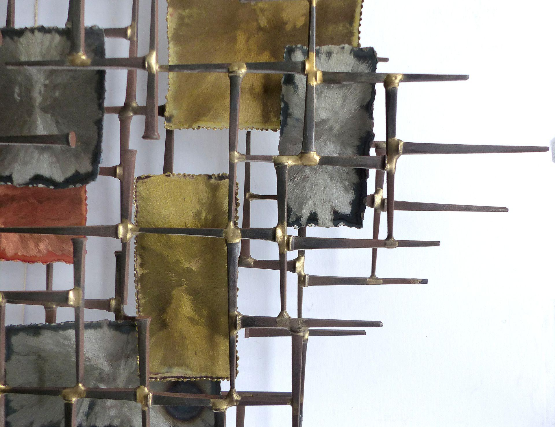 Mid Century Modern Brutalist Wall Sculpture Modernism