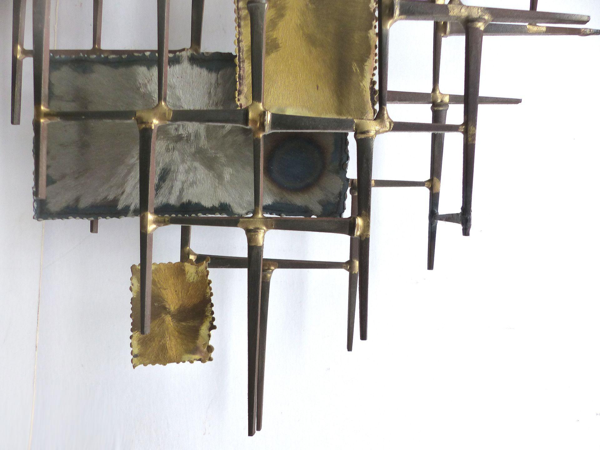Mid-century Modern Brutalist Wall Sculpture   Modernism
