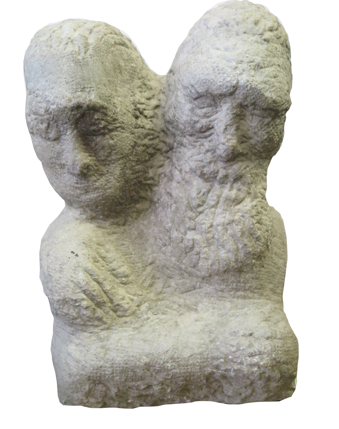 Carved Stone Sculpture Women And Men By Sam Grodensky