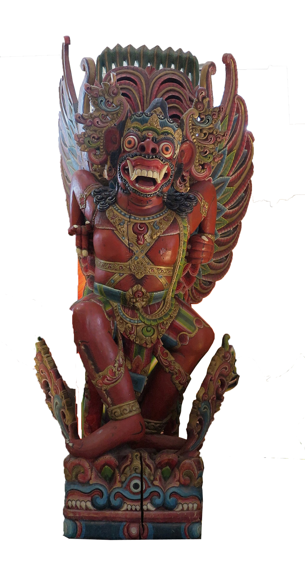 Carved Wooden Garuda 90 In Height Modernism