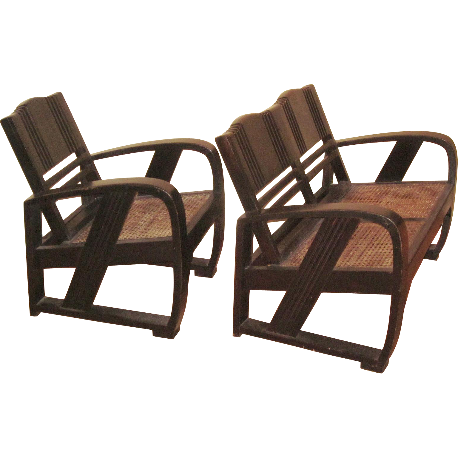 art deco outdoor furniture. Chinese Art Deco Chair And Settee Outdoor Furniture