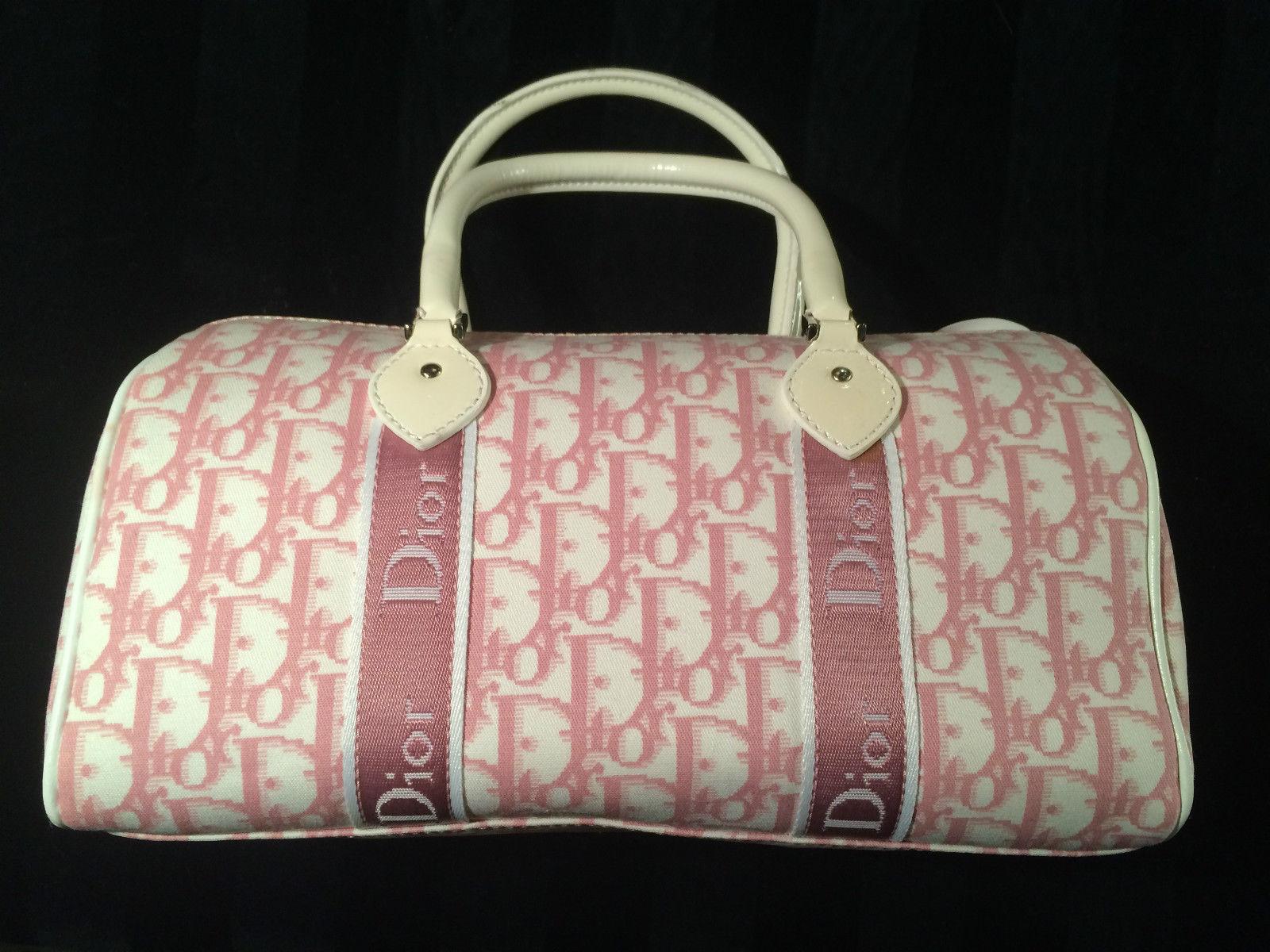 772882c2129a Christian Dior Pink Girly Handbag Vintage