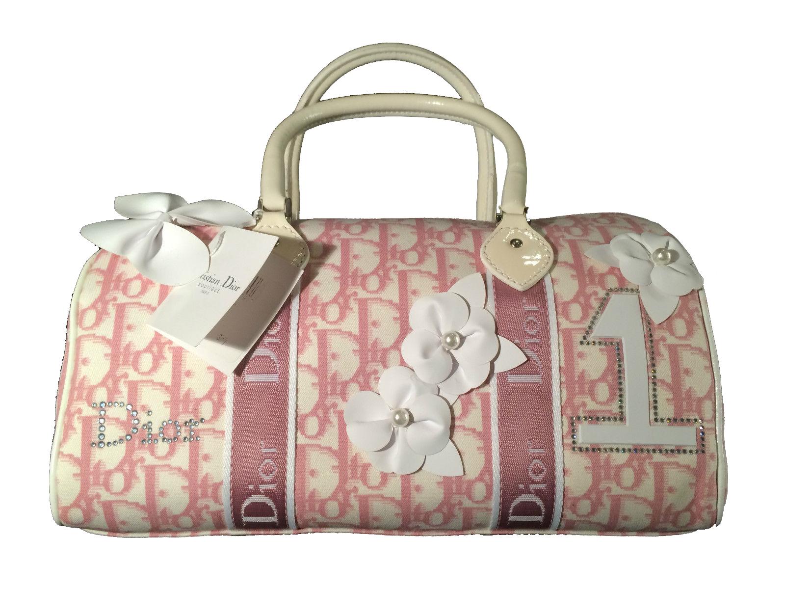 Christian Dior Pink Girly Handbag Vintage Modernism