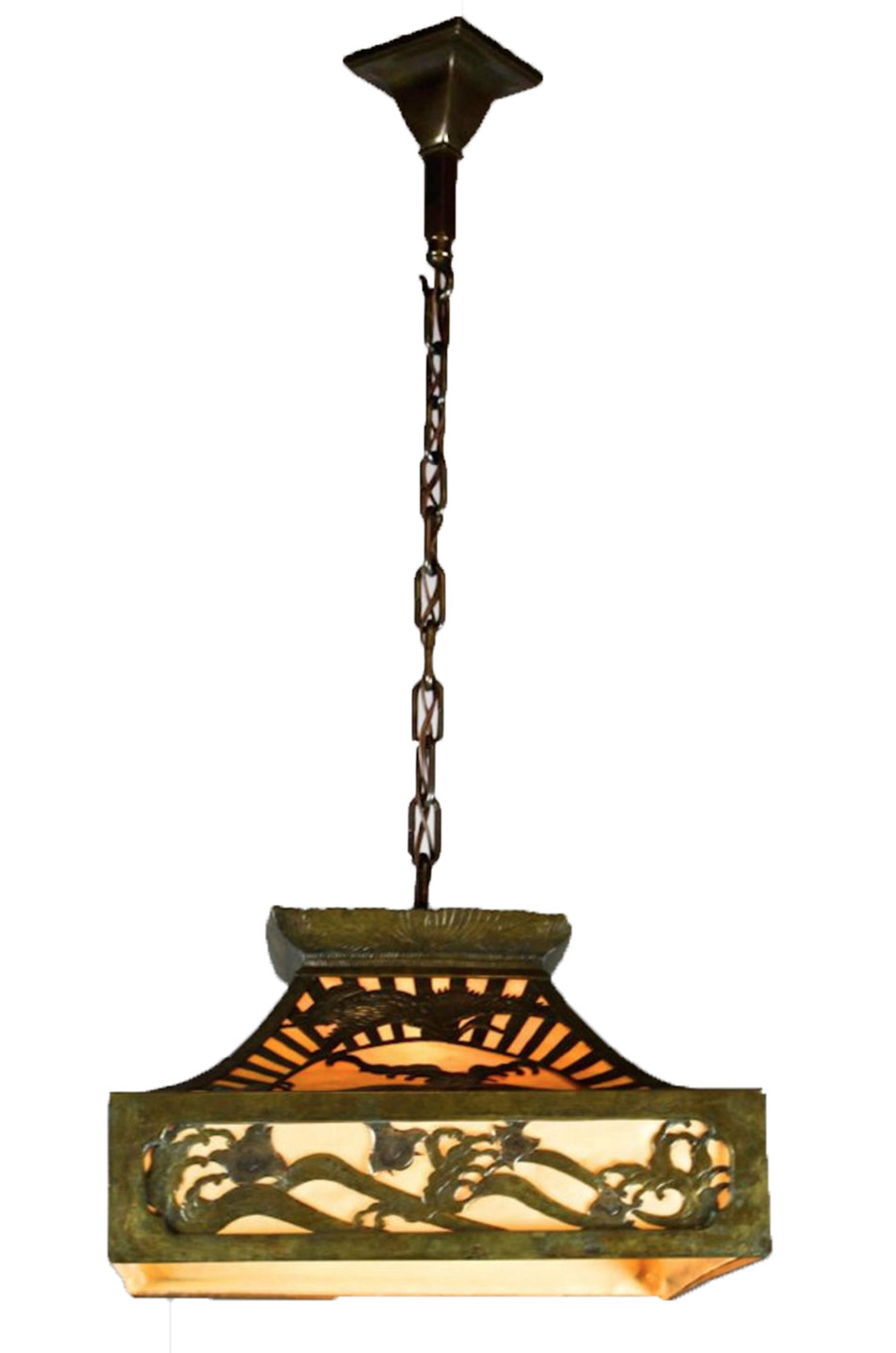Asian inspired arts crafts cut out fixture modernism asian inspired arts crafts cut out fixture arubaitofo Choice Image