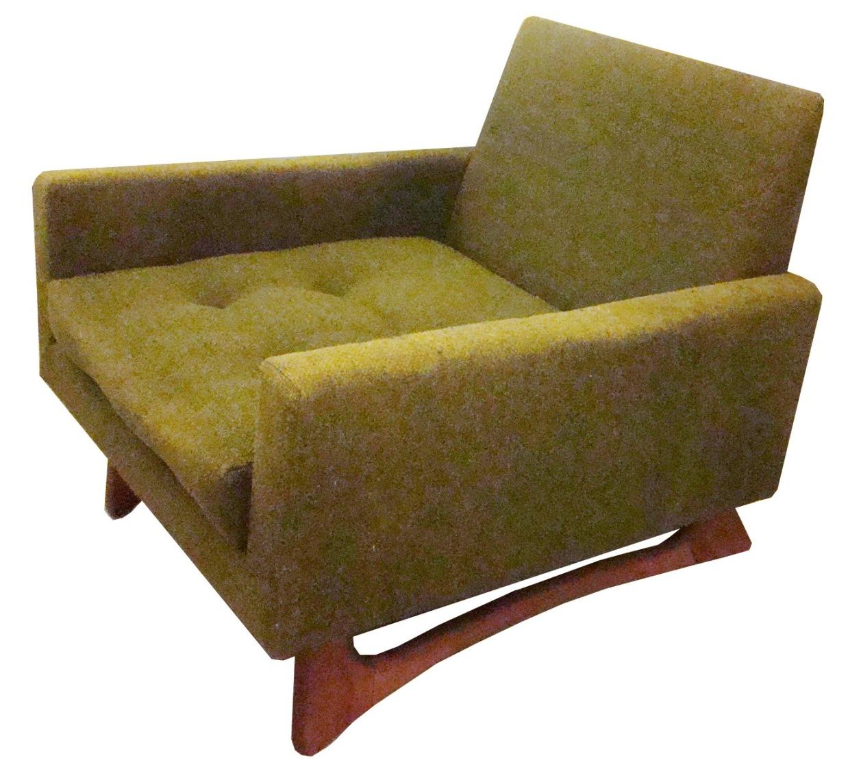 Good Adrian Pearsall Mid Century Modern Club Chair