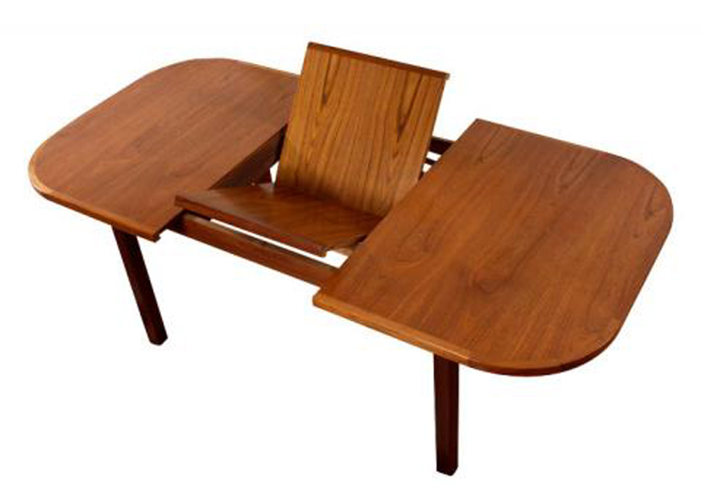 Butterfly Leaf Teak Table Modernism