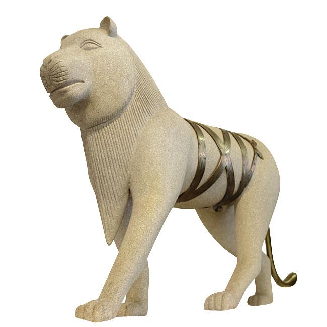 Egyptian Lion Statue Modernism