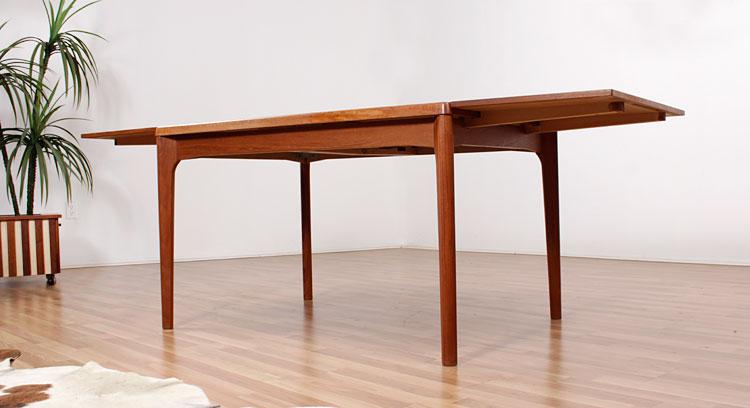 Vejle Stole Danish Teak Dining Table Modernism