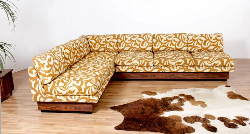 Pleasant Original Vintage 1970S Sofa Sectional Modernism Creativecarmelina Interior Chair Design Creativecarmelinacom